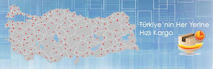 Türkiyenin Her Yerine Hızlı Kargo